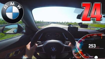 MAXIMÁLNA RÝCHLOSŤ BMW Z4 NEPREKVAPÍ ANI PRI SLABŠEJ VERZII