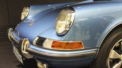 Najslávnejšie športové auto je Porsche 911