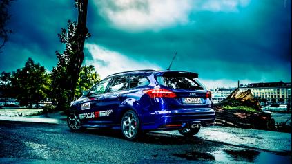 Test: Ford Focus ST combi TDCI