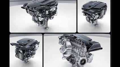 Žiadne zmenšovanie, Mercedes predstavil V8 a dva radové 6-valce pre budúcnosť