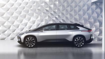 Faraday Future má až 1050 koňový elektromobil! Už berie objednávky