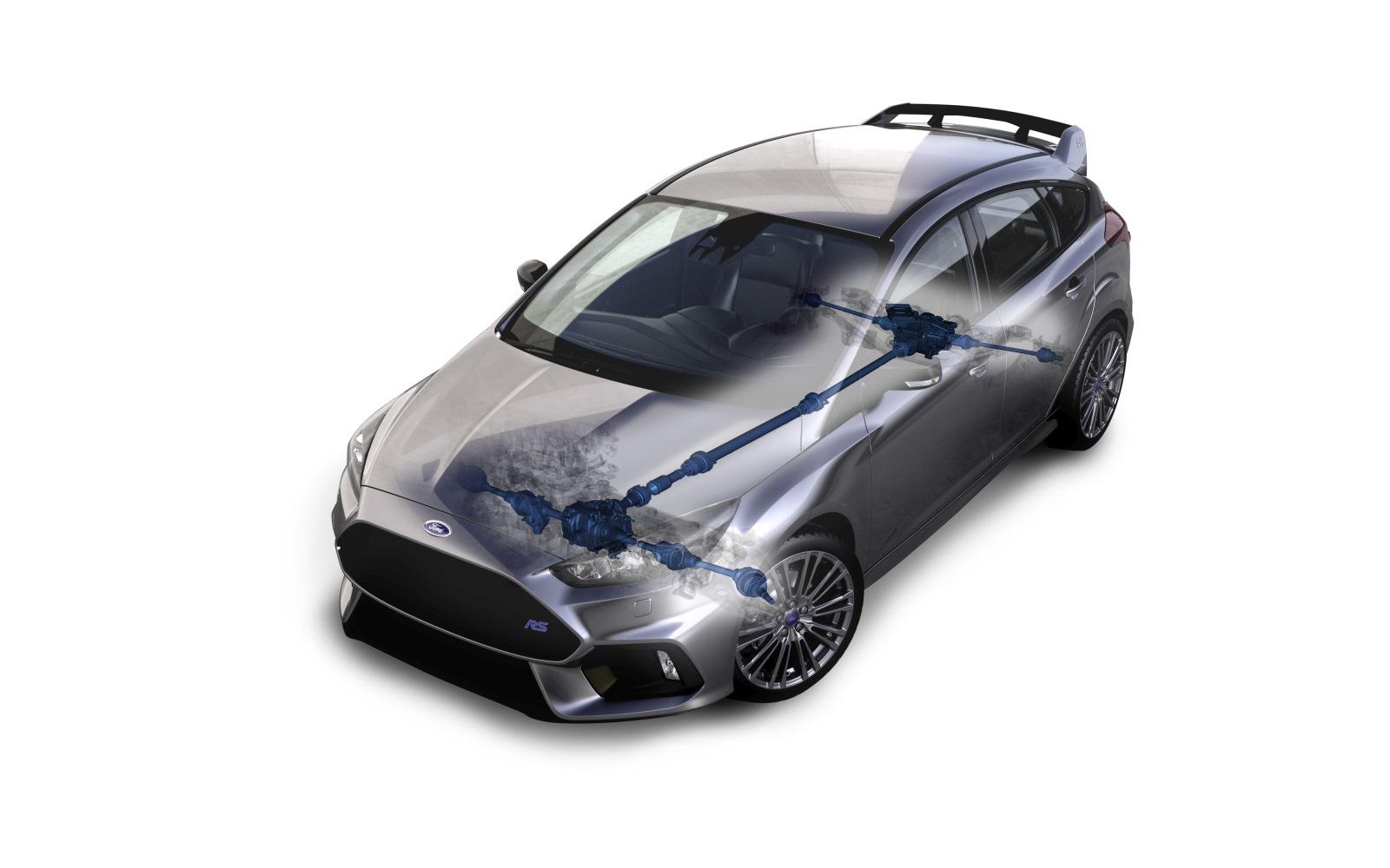 2015 Ford Focus RS Torque Vectoring Differentials