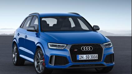 Audi RS Q3 performance má 367 k. Stovku dá za 4,4 s