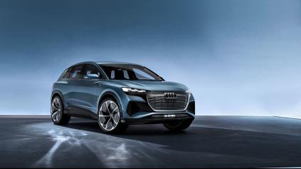 Elektromobil Audi Q4 e-tron dopĺňa rastúcu rodinu áut s káblom