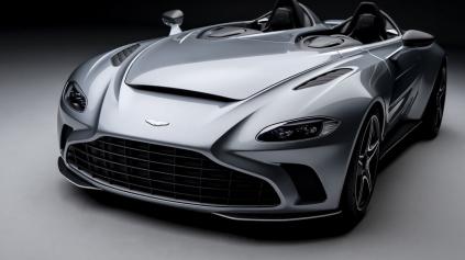 Aston Martin V12 Speedster je v dnešnej eko dobe vyslovene chuťovka