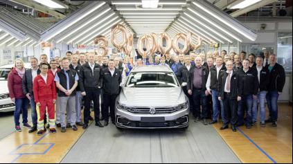 VÝROBA VW PASSAT-U PREKROČILA 30 MILIÓNOV KUSOV