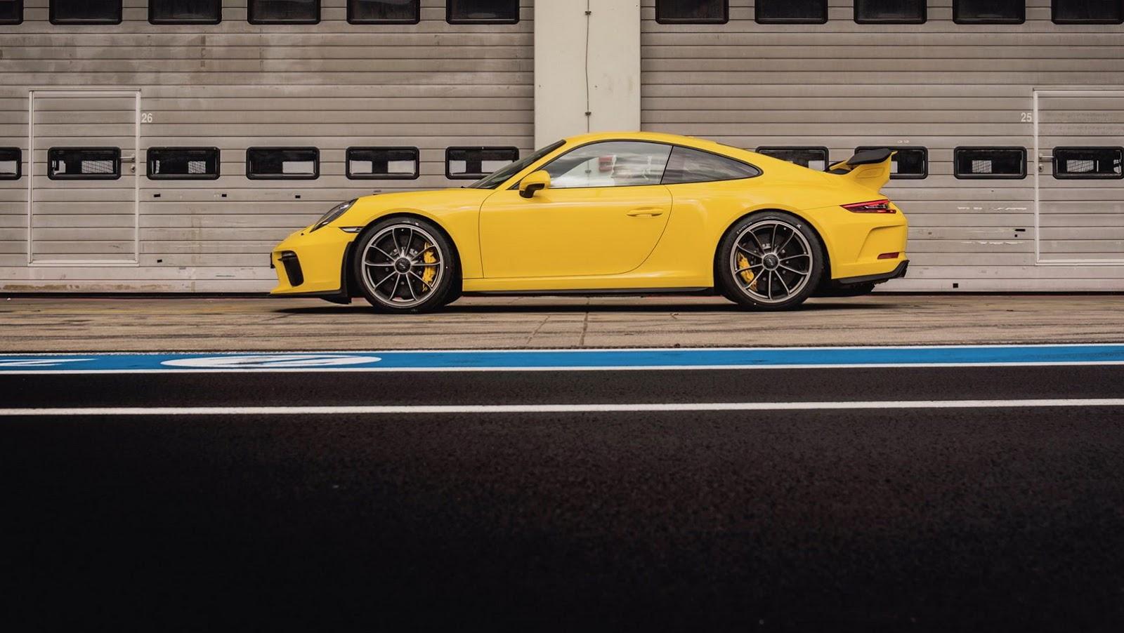Porsche 911 GT3 zvládne Nürburgring o 12s rýchlejšie