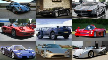Top 10 zabudnutých supercarov