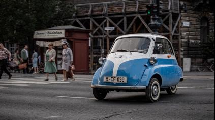 BMW ISETTA ZACHRÁNILA Z VÝCHODNÉHO BERLÍNA 9 ŽIVOTOV. AKO?