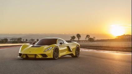Hennessey Venom F5, to je 1600 k a topspeed vyše 480 km/h