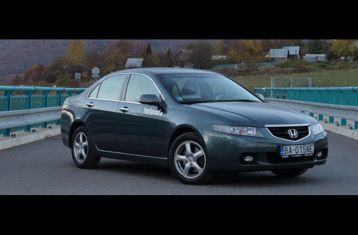 TEST: JAZDENKA HONDA ACCORD (2003 - 2008)