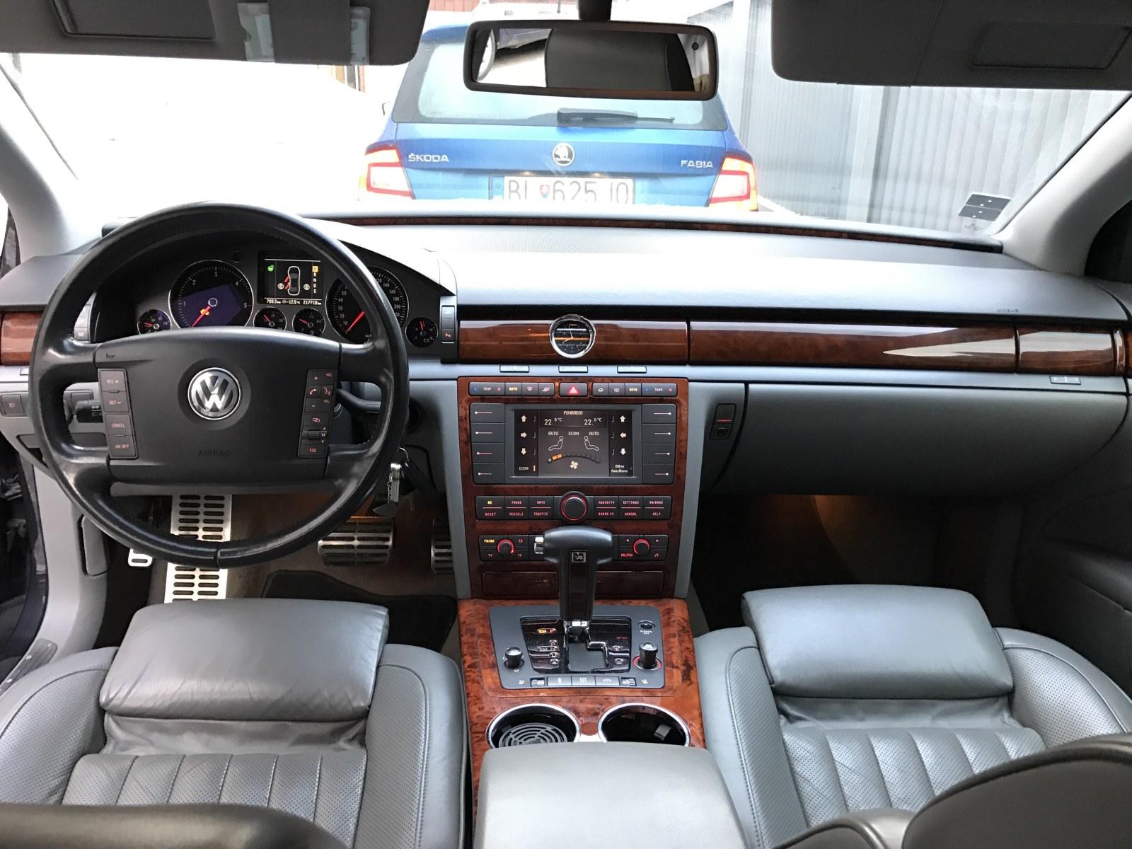 TopSpeed.sk čitateľský test VW Phaeton 3,0 TDI