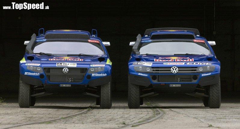 Volkswagen Race Touareg 2 v porovnaní s Volkswagen Race Touareg 3