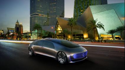 Autonómny Mercedes-Benz F015 vám dá osobný priestor a čas