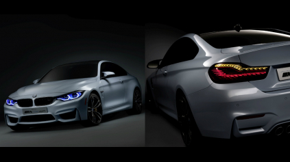 BMW M4 CONCEPT ICONIC - KRAJŠIE A LEPŠIE SVETLÁ STE NEVIDELI!