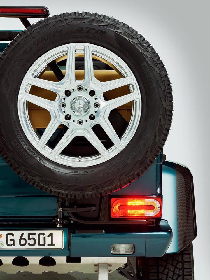 Mercedes G65 AMG 4x4 Kabrio