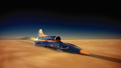 Bloodhound SSC chce prekonať hranicu 1000 MPH (1609 km/h)