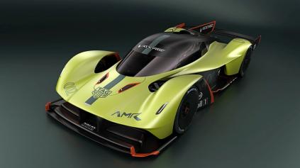 Aston Martin Valkyrie AMR Pro chce byť rýchlejší ako Formula 1