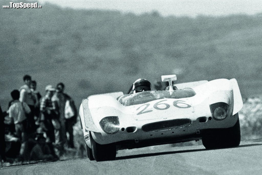 1969 Targa Florio, Porsche Typ 908/02 Spyder