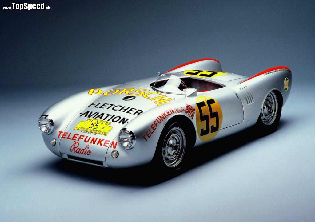 Porsche Type 550 Spyder (Carrera Panamericana)