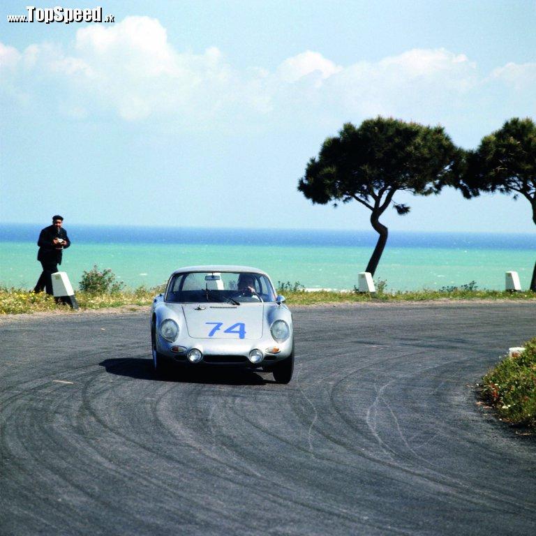 Targa Florio 1964, Porsche Typ 356 B 2000 GS Carrera GT Dreikantschaber