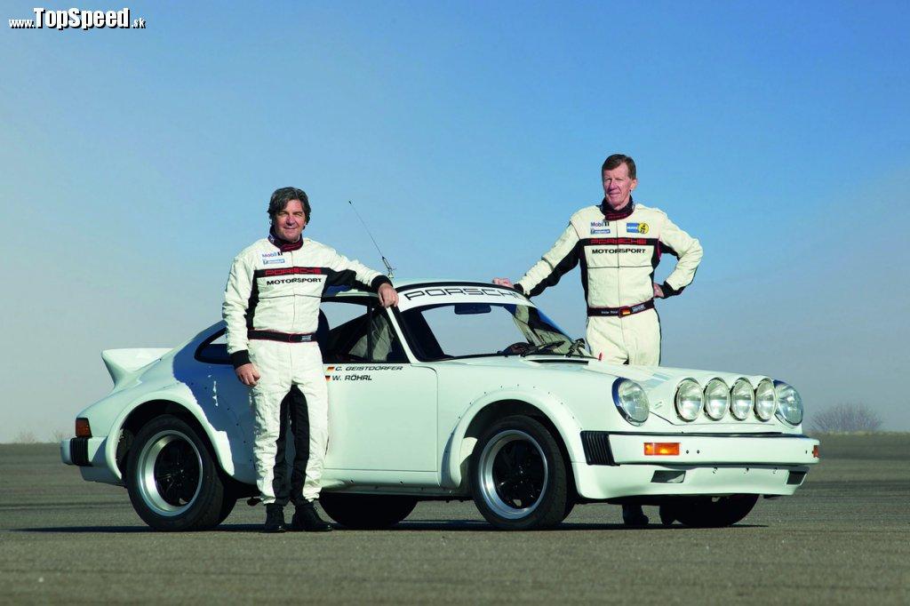 "Porsche 911 SC ""kačací chvost"", Walter Röhrl aChristian Geistdörfer"