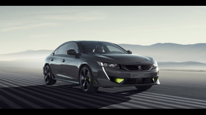 Športový Peugeot 508 hybrid s 360 k už budúci rok?