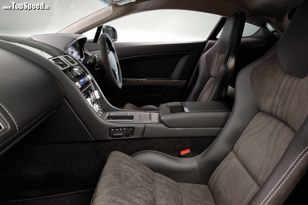 Aston Martin V8 Vantage N420 ajeho prekrásny interiér