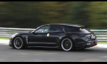 Porsche Taycan Cross Turismo už ladia na okruhu