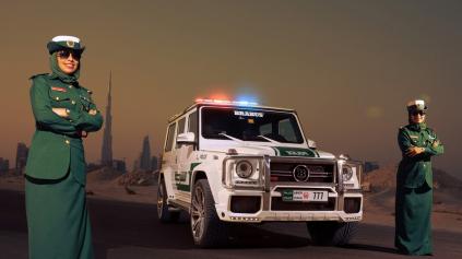 POLÍCIA V DUBAJI DOSTALA BRABUS B63S S VÝKONOM 700 KONÍ