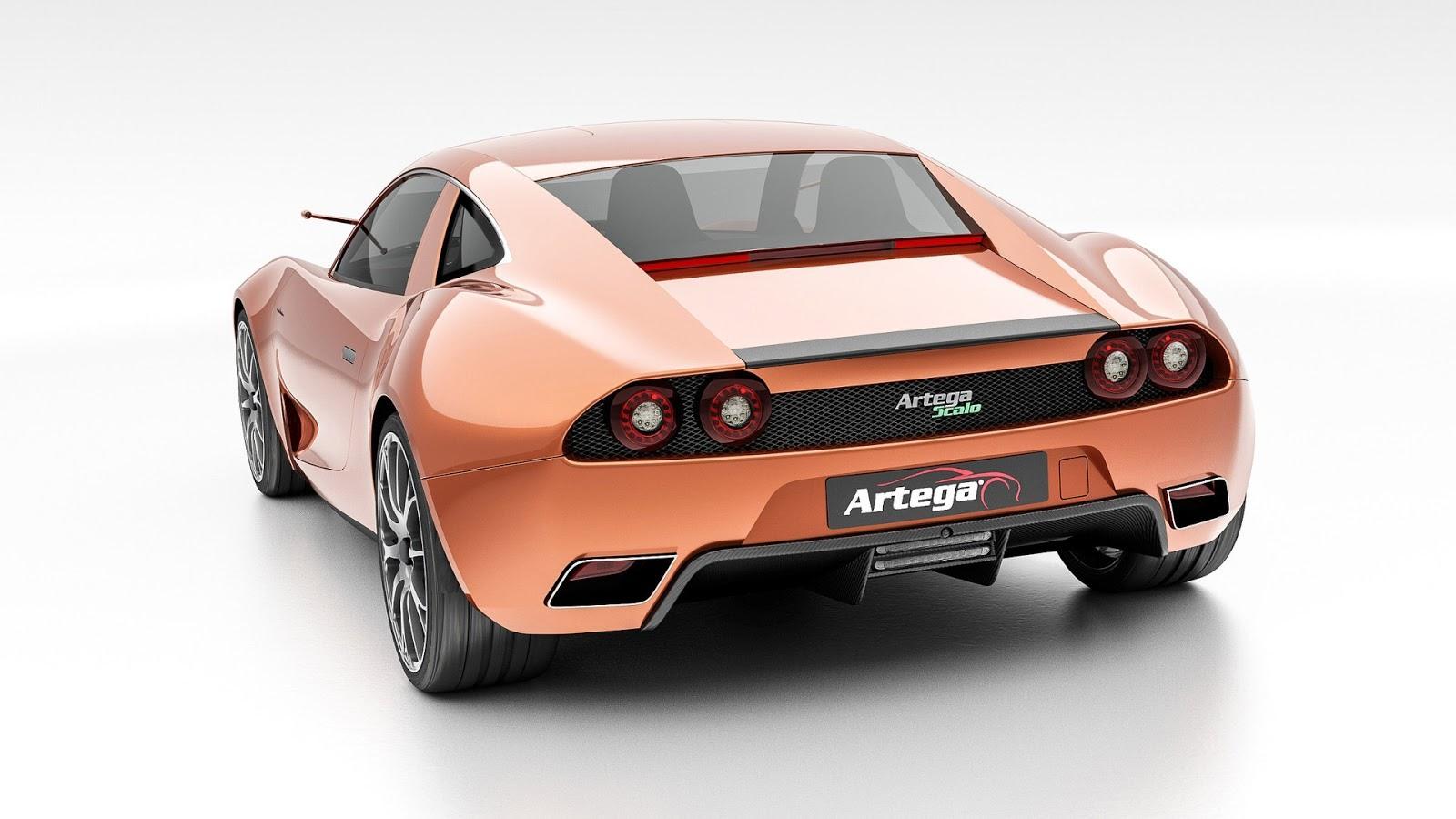 Elektrická Artega Scalo Superellectra má vyše 1000 k a dojazd 500 km