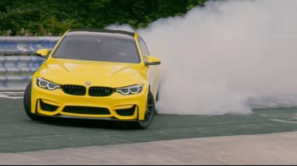 Pennzoil s BMW M4 CS uteká z Nürburgringu veľmi šmyklavým spôsobom