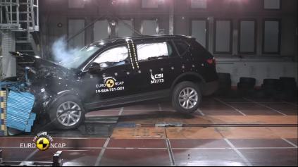 EURO NCAP SEAT TARRACO ZVLÁDLO NA 5 HVIEZD