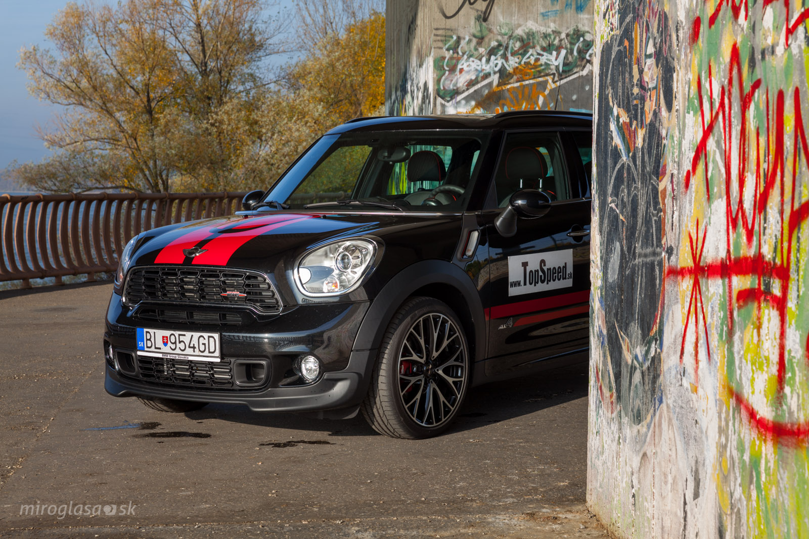 TopSpeed.sk test MINI Countryman John Cooper Works
