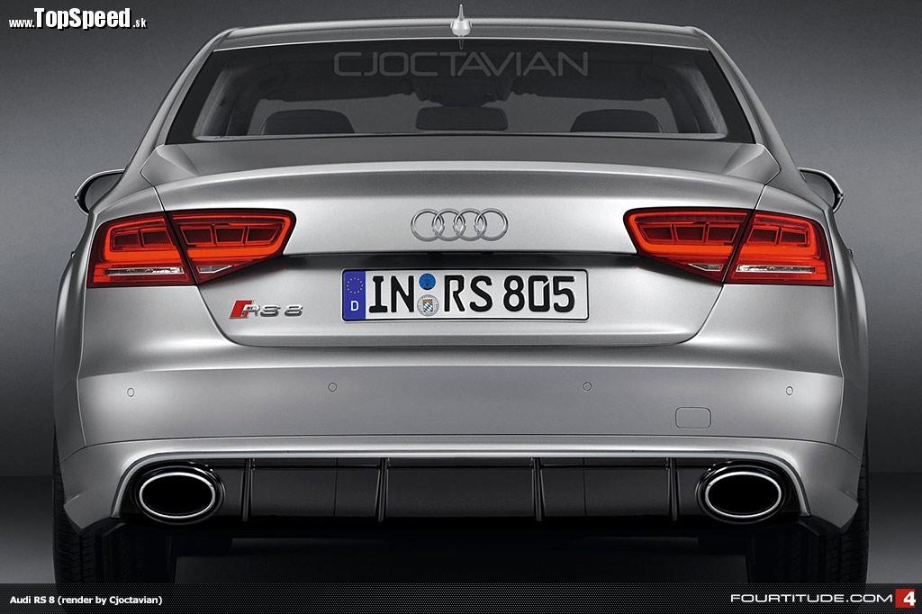 Audi RS8 virtual tuning od CJOCTAVIAN