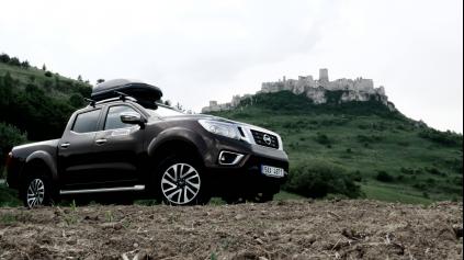 Roadtrip: Nissan Navara na výlete okolo Slovenska za 1 víkend