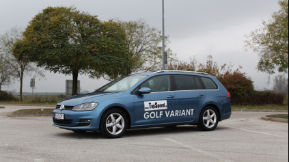 Test: VW Golf 7 Variant 2.0 TDI DSG Bluemotion HIGHLINE