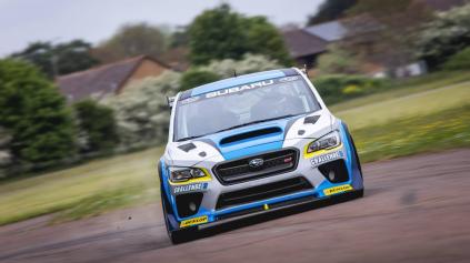 Higgins dal okruhu Isle of Man so Subaru WRX STI nový rekord
