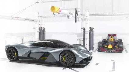 Aston Martin a Red Bull odhalili AM-RB 001 - najlepší hypercar na svete