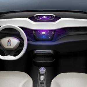 Interiér Pininfarina B0