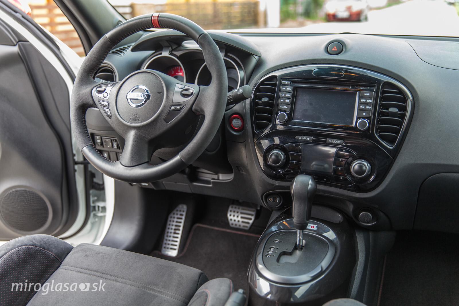 Nissan Juke Nismo a jeho smutná CVT...