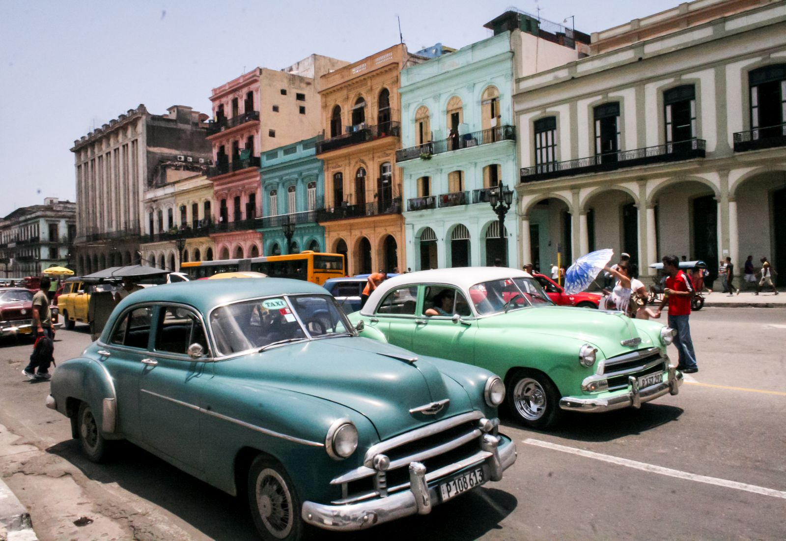 Куба машины напрокат