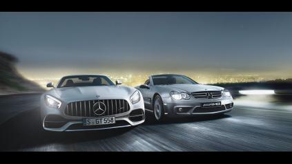 Mercedes-AMG oslavuje polstoročie založenia