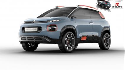 C-aircross concept je vízia malého SUV Citroen