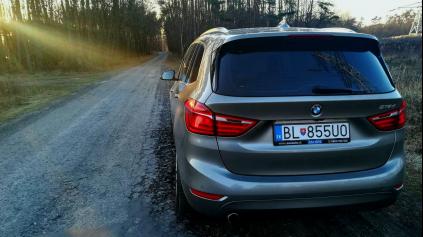 TEST JAZDENKY BMW 2 ACTIVE / GRAN TOURER (2014 - DOTERAZ)