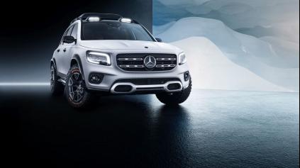 Koncept Mercedes-Benz GLB je predobraz nového typu