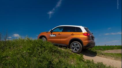 Test: Suzuki Vitara 4WD 1.6VVT