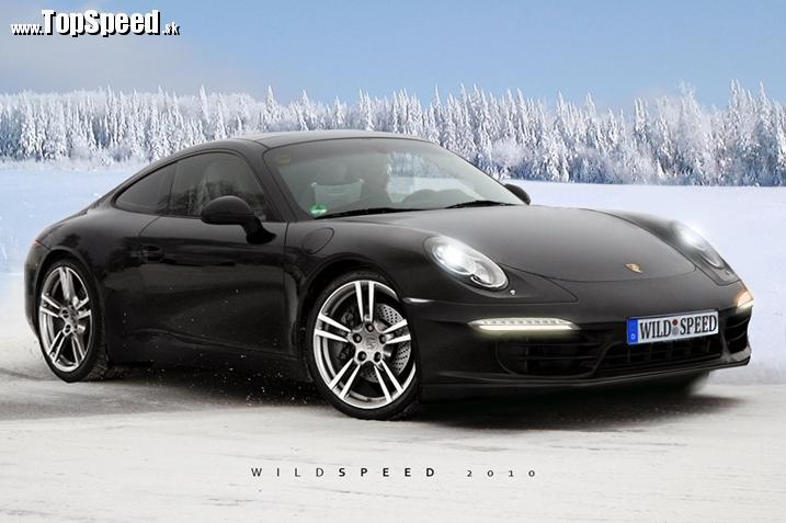 Jeden z predpokladaných tvarov Porsche 911 od Wildspeed
