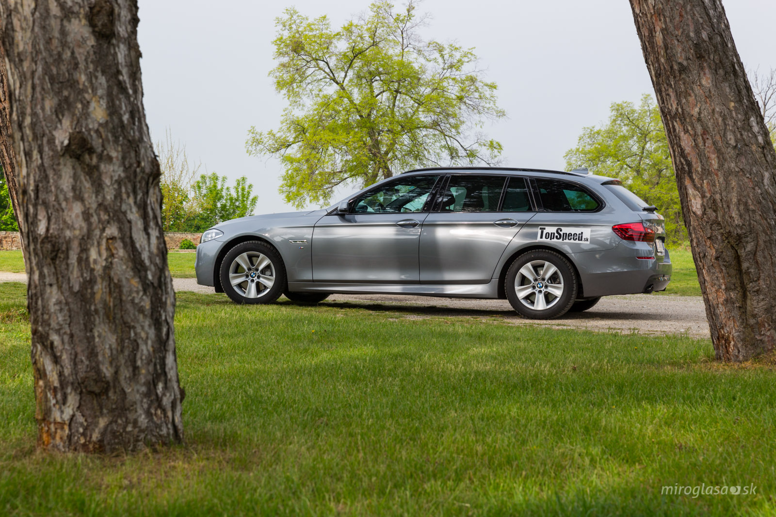Test BMW 535d Touring xDrive F11 - TopSpeed sk