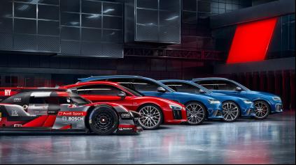 Prichádza riadna dávka výkonu. Audi Sport plánuje až 6 modelov RS
